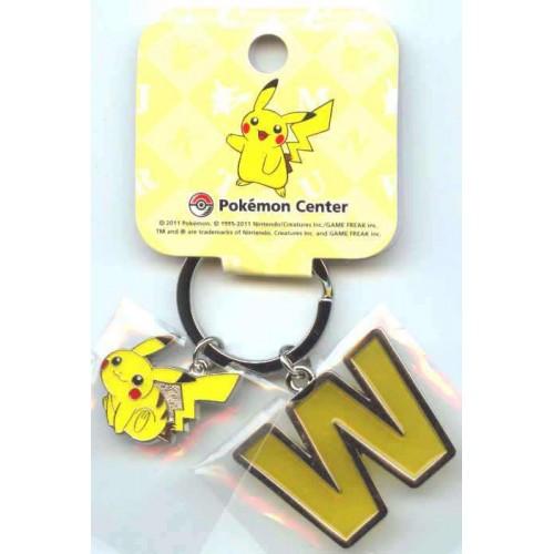 Pokemon Center 2011 Pikachu Keychain Version W