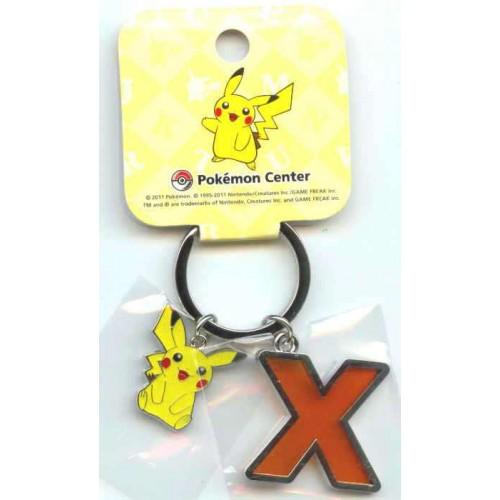 Pokemon Center 2011 Pikachu Keychain Version X