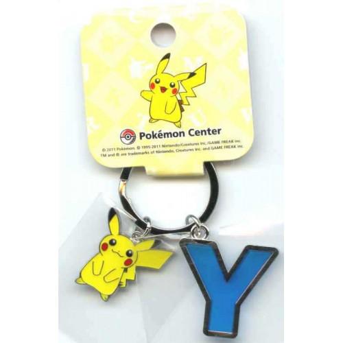 Pokemon Center 2011 Pikachu Keychain Version Y