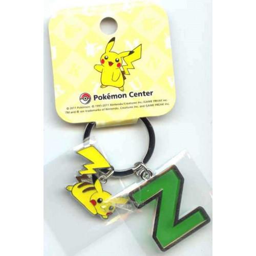 Pokemon Center 2011 Pikachu Keychain Version Z