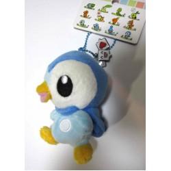 Pokemon Center 2010 Walking Starters Series #1 Piplup Mini Mascot Plush Keychain