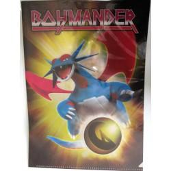 Pokemon Center 2012 Dragon Selection Salamence A4 Size Clear File Folder