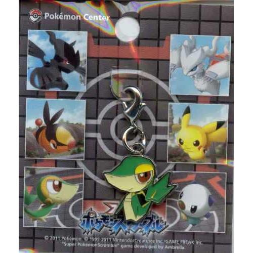 Pokemon Center 2011 Super Pokemon Scramble Snivy Tsutarja Charm