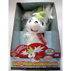 Pokemon 2008 Talking Shaymin Sky Forme Plush Toy