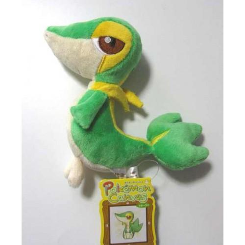 Pokemon Center 2011 Snivy Canvas Series Plush Toy