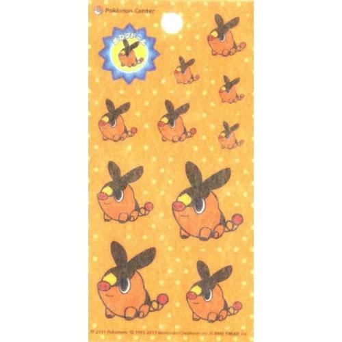 Pokemon Center 2011 Tepig Pokabu Pokedoll Sticker Sheet