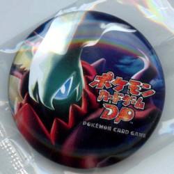 Pokemon Center 2007 Darkrai Metal Button