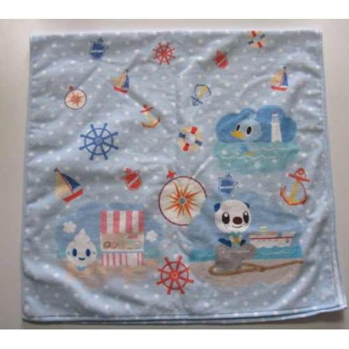 Pokemon Center 2012 Type Focus Campaign Water/Ice Vanillite Panpour Oshawott Tympole Cubchoo Ducklett Cloth Bath Towel