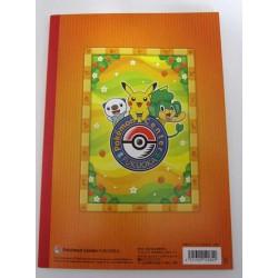 Pokemon Center Fukuoka 2012 Renewal 1st Anniversary Pikachu Joltik Whimsicott Snivy Drilbur & Friends Sketch Notebook