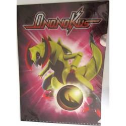 Pokemon Center 2012 Dragon Selection Haxorus A4 Size Clear File Folder