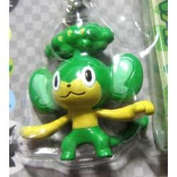 Pokemon Center 2010 Pansage Mini Mascot Figure Mobile Phone Strap #1