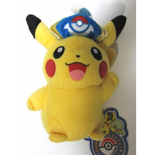 Pokemon Center Yokohama 2008 Captain Pikachu Plush Toy
