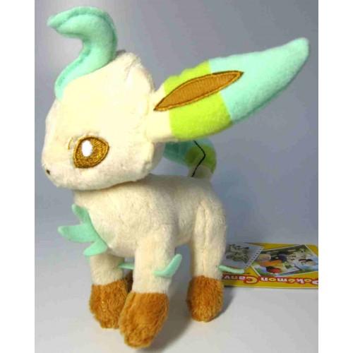 Pokemon Center 2009 Leafeon Canvas Series Plush Toy