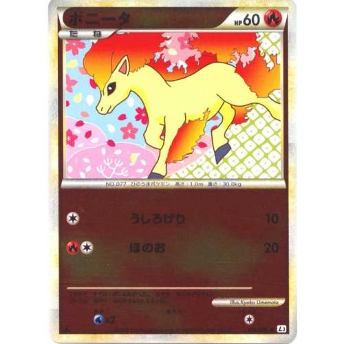 Pokemon 2010 Legend #3 Clash At The Summit Ponyta Reverse Holofoil Card #010/080