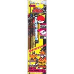 Pokemon Center 2011 Tepig Pignite Emboar  Set of 3 Pencils