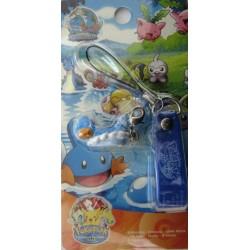 Pokemon 2005 PokePark Mudkip Mini Mascot Figure Mobile Phone Strap