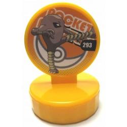 Pokemon 2010 Stamp Retusden Series #9 Hitmonlee Ink Stamper