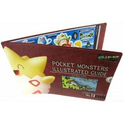 Pokemon 2000 Jumbo Sealdass #13 Tanba City Yadoking Lapras Primeape Togepi Shuckle Slugma Poliwrath & Friends Large 2 Sticker Sheet Book