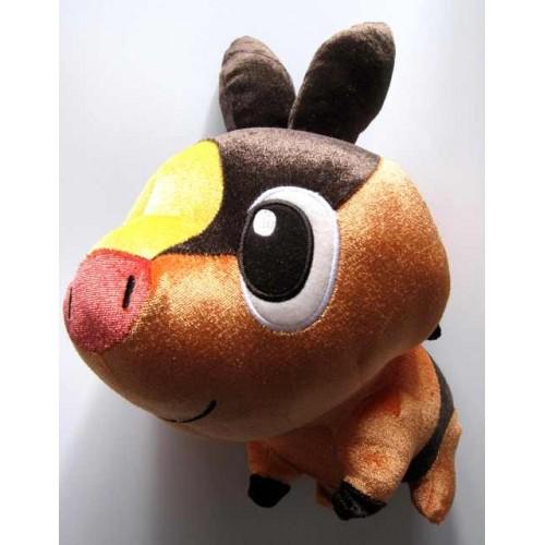 Pokemon 2011 Banpresto UFO Game Catcher Prize Tepig Pokabu Large Size Plush Toy