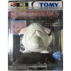 "Pokemon 2004 Chansey Tomy 2"" Monster Collection Plastic Figure #113"