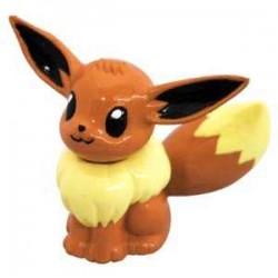 "Pokemon 2011 Eevee Tomy 2"" Monster Collection Plastic Figure M-069"