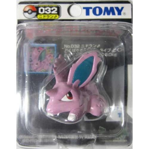 nidoran male height = 3,8cm official brand bandai-figure Pokemon figurine