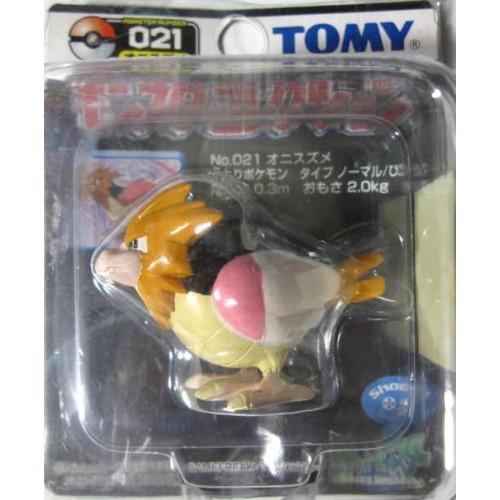 "Pokemon 2004 Spearow Tomy 2"" Monster Collection Plastic Figure #021"