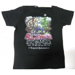 Pokemon 2011 Uniqlo Cobalion Terrakion Virizion Childrens Tshirt (Size 150cm)